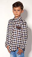 Рубашка для мальчика 1549/122/асорті в наличии 122 р., также есть: 122,128,134,146, Mevis_ЦС