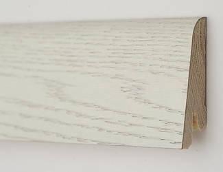 Плинтус деревянный шпонированный Дуб арктик