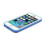 Бампер на Apple iPhone 5, 5s, SE, JCPAL серия Anti-shock Bumper 3 in 1, цвет Blue, фото 8