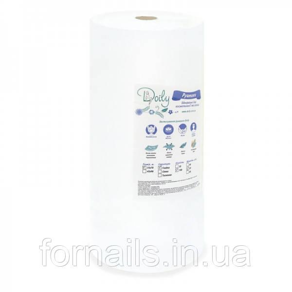Полотенца в рулоне 40*70 см, 40г/м2, 100 шт, гладкие Doily