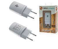 Сетевое зарядное устройство 2e usb wall charger 1a white (2e-wcrt11-1w)