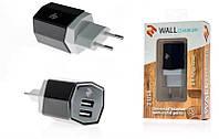Сетевое зарядное устройство 2e dual usb wall charger 3.4a black (2e-wcrt58-b)