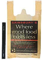 Пакет-майка Sainsbury's 28*50 см, 2500 шт.