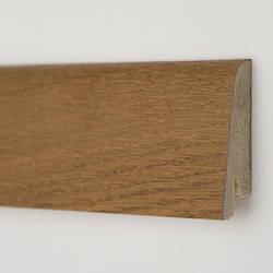 Плинтус деревянный шпонированный Дуб медовый