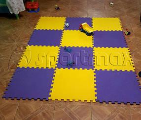 Напольные покрытия - пазлы в детскую комнату