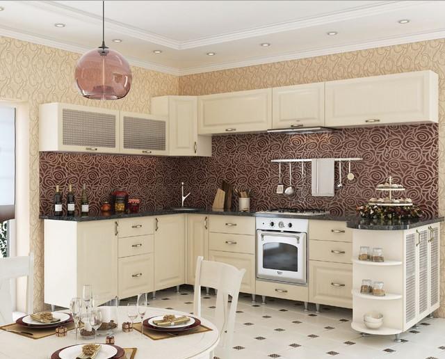 Кухня София Романтика (цвет ваниль)