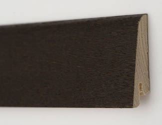 Плинтус деревянный шпонированный Дуб термо