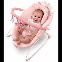 Kids II Кресло-качалка розовое