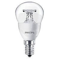 Светодиодная (LED) лампочка Philips CorePro Luster 4 Вт, теплый белый, E14