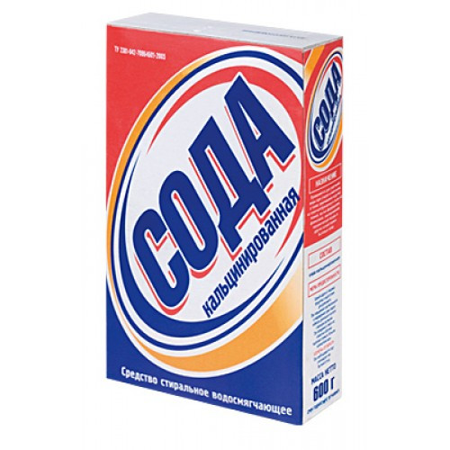 Чистящ.Сода кальцинована 700гр п/е