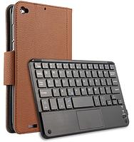 Чехол клавиатура Bluetooth магнитная для Xiaomi Mi Pad 2 7.9 коричневый