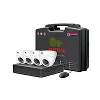 Partizan Indoor Kit 2MP 4xAHD комплект видеонаблюдения для помещений