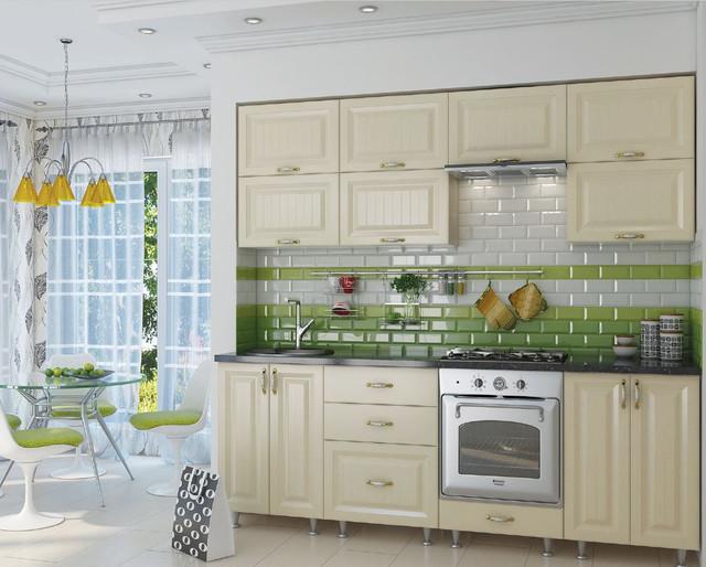 Кухня София Романтика (цвет ваниль, фото 2)