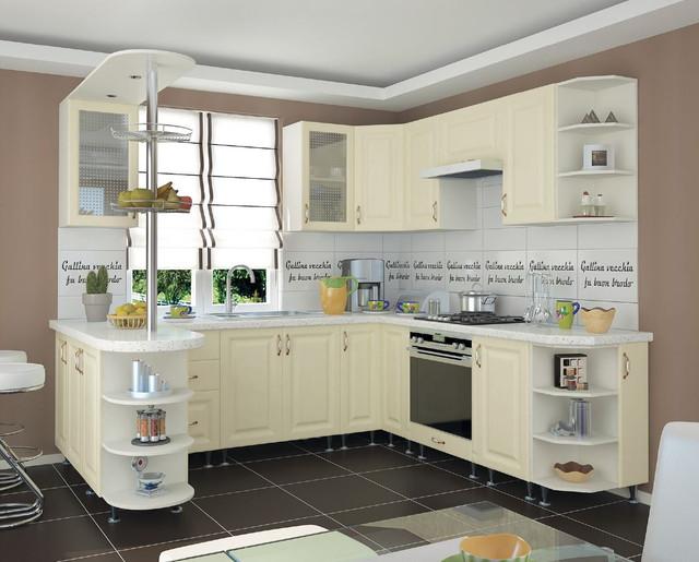 Кухня София Романтика (цвет ваниль, фото 3)