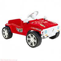 Детская педальная машина (792) Орион красная