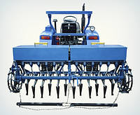 Сеялка зерновая двенадцатирядная для минитрактора