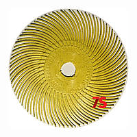 3M 30126 Scotch-Brite™ Bristle RB-ZB - Радиальная щетка 76х9 мм, P80, желтая