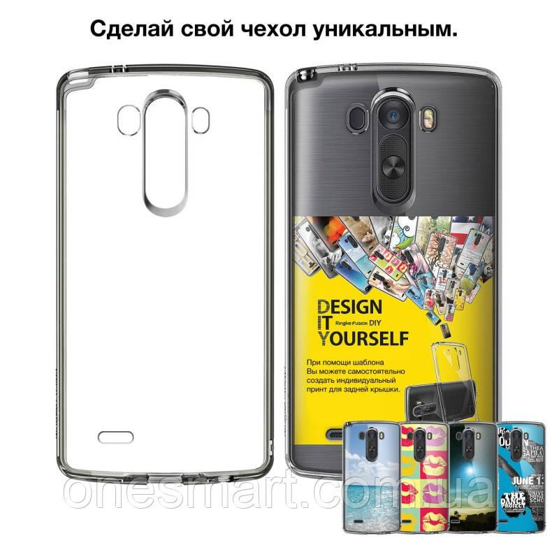 Чохол на LG G3, Ringke серія Fusіon, колір Crystal View