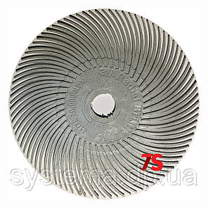 3M 30127 Scotch-Brite™ Bristle RB-ZB - Радиальная щетка 76х9 мм, P120, белая, фото 2