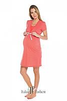 (S,L) Нічна сорочка для вагітних та годуючих мам Radosc, Italian Fashion (Польща), фото 1
