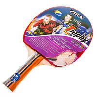 Ракетка для настольного тенниса (пинг понга) Stiga Trophy ***