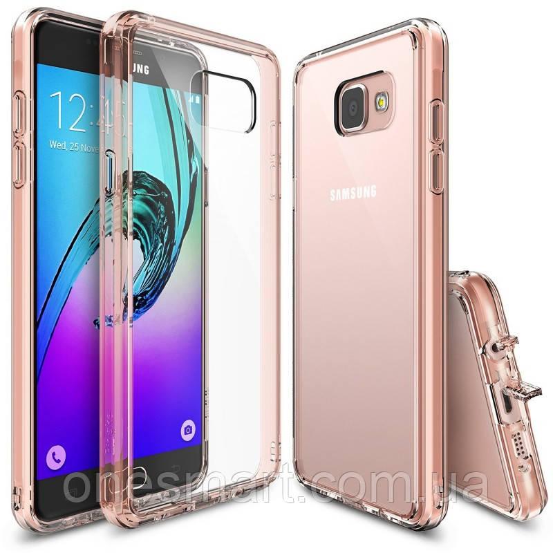 Чохол Ringke Fusion для Samsung Galaxy A7 2016 Rose Gold