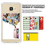 Чохол Ringke Fusion для Samsung Galaxy A7 2016 Rose Gold, фото 5