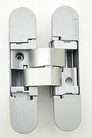 Петля скрытая Kombi-3 K1000 DXSX для правых и левых дверей матовый хром Koblenz