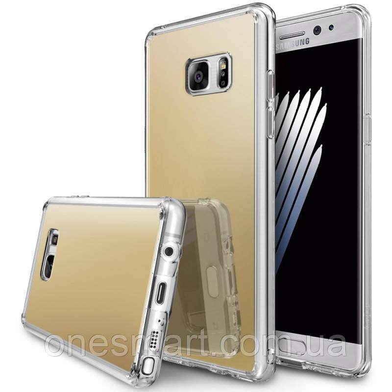 Чехол Ringke Fusion Mirror для Samsung Galaxy Note 7 N930F Royal Gold