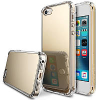 Чехол Ringke Fusion Mirror для iPhone SE/5S/5 Royal Gold