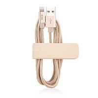 Кабель JCPAL Lightning - Dual USB, iPhone 5, 5S, 6, Gold