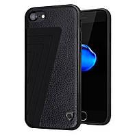 Чехол накладка кожаный Nillkin Hybrid для Apple iPhone 7 4.7 черный