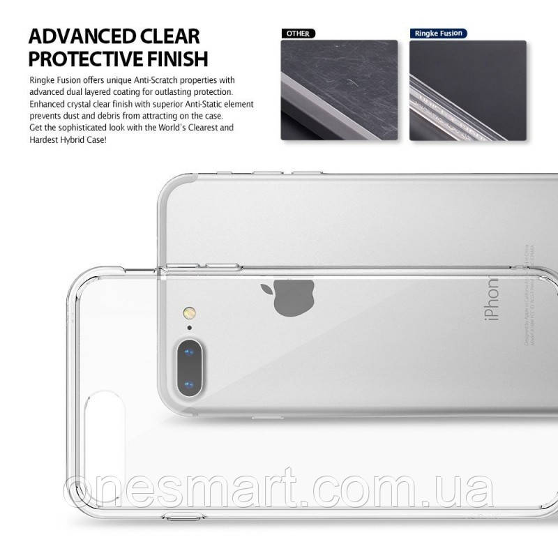 Чохол Ringke Fusion для Apple iPhone 7 Plus / 8 Plus (Crystal View)