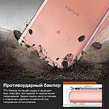 Чохол Ringke Fusion для Sony Xperia XA Dual (F3112) Black Smoke, фото 2
