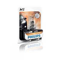 Лампа галогенная Philips H1 Vision, 3200K, 1шт/блистер 12258PRB1