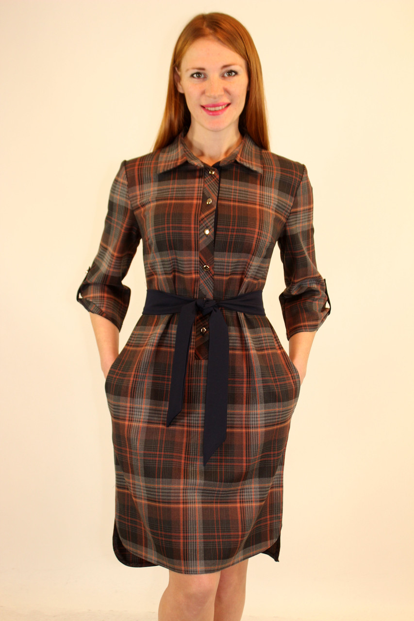 Платье рубашка 44 р ( разные цвета )