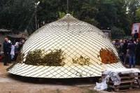 Изготовление купола для храма компанией Стримэкс