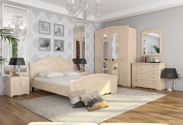 Модульная спальня Николь (береза)