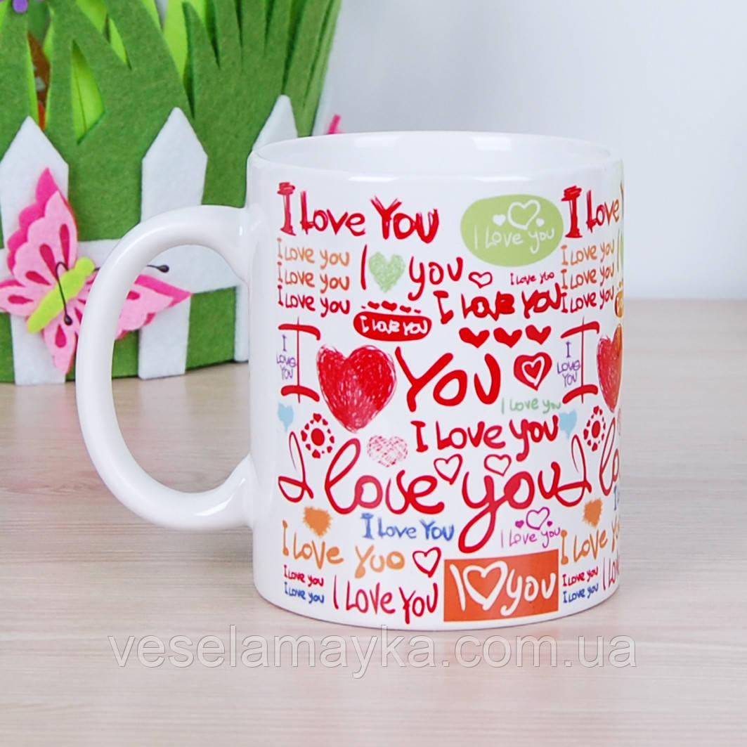 """Чашка """"Love 2"""""""
