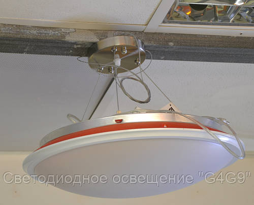 Светильник 24Вт, пластик 42см, режимы Теплый/Холодный