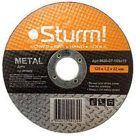Диск отрезной Sturm по металлу 230x2.5x22 9020-07-230x25
