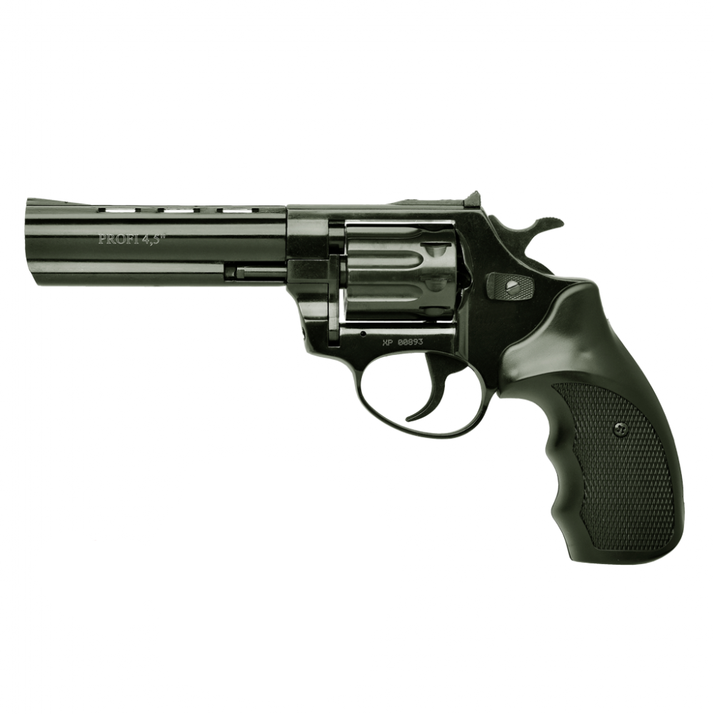 """Револьвер под патрон Флобера PROFI-4.5"""" (черный/пластик)"""
