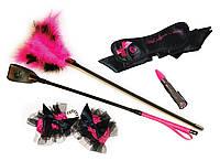 Купить БДСМ набор с вибратором Rocks Off S&T Kit Pink