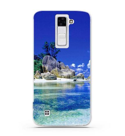 Чохол з картинкою (силікон) для LG K7 x210 Острів