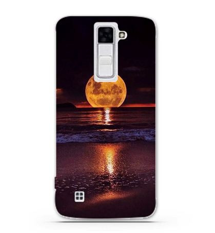Чехол с картинкой (силикон) для LG K7 x210 Закат