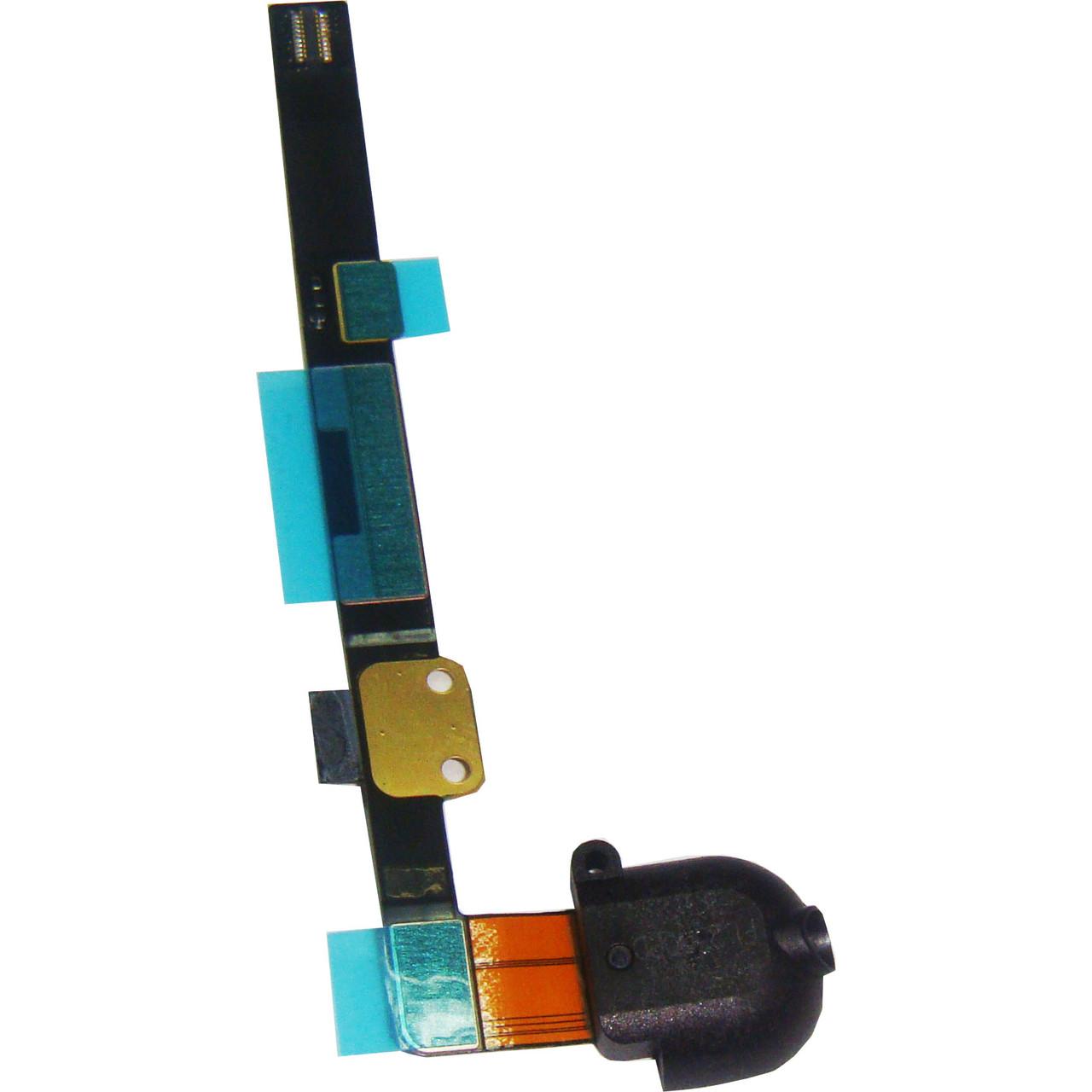 Шлейф для iPad Mini с коннектором наушников. черный