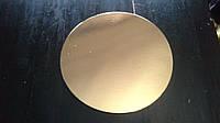 Подложка под торт ВКМ(золото-серебро)Д300