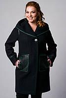Пальто весеннее большие размеры, фото 1
