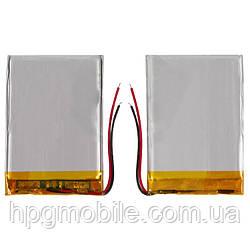 Батарея (АКБ, аккумулятор) для автонавигаторов Navi N70 BT, 900 mAh, 59х36х3,6 мм