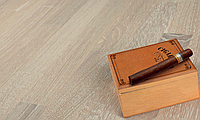 Паркетная доска Wood Floor Дуб Карамель White, браш, матовый лак